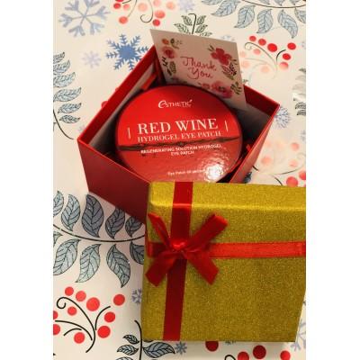 Патчи Esthetic House с красным вином в подарочной упаковке