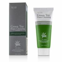 Пенка для умывания натуральная с зеленым чаем 3W CLINIC, 100 мл