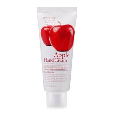[3W CLINIC] Крем для рук увлажняющий с экстрактом яблока