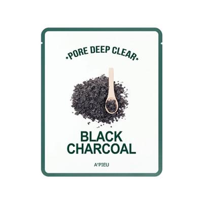 Очищающая маска для лица A'PIEU Pore Deep Clear Black Charcoal
