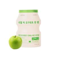 Отшелушивающая тканевая маска для лица A'PIEU Real Big Yogurt One-Bottle (Apple)