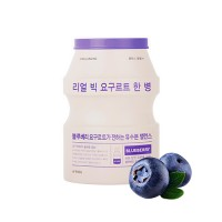 Укрепляющая тканевая маска для лица A'PIEU Real Big Yogurt One-Bottle (Blueberry)