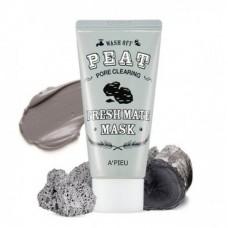 Очищающая маска для лица A'PIEU Fresh Mate Peat Wash Off Mask (Pore Clearing)