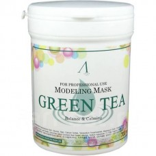 Альгинатная маска Anskin Green Tea Modeling Mask, 240 гр