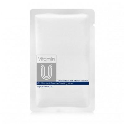 Маска с витамином U CU SKIN VITAMIN U ESSENCE SOOTHING MASK, 1 шт