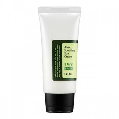 Солнцезащитный крем с алоэ вера COSRX, Aloe Soothing Sun Cream SPF50 PA+++, 50 мл