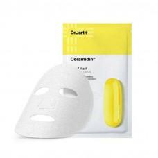 Восстанавливающая тканевая маска с церамидами DR.JART+ Ceramidin Facial Mask, 22 мл