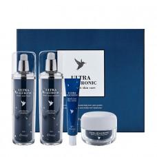 Бьюти-бокс для лица Esthetic House Ultra Hyaluronic Acid Bird's Nest Skin Care Set