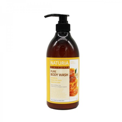 Гель для душа EVAS Naturia Pure Body Wash Honey & White Lily