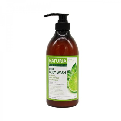 Гель для душа EVAS Naturia Pure Body Wash Wild Mint & Lime