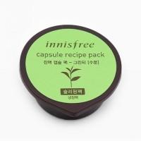 Капсульная ночная маска с зеленым чаем Innisfree, 10 мл
