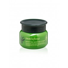 Крем для кожи вокруг глаз с экстрактом зелёного чая Innisfree Green Tea, 30 мл