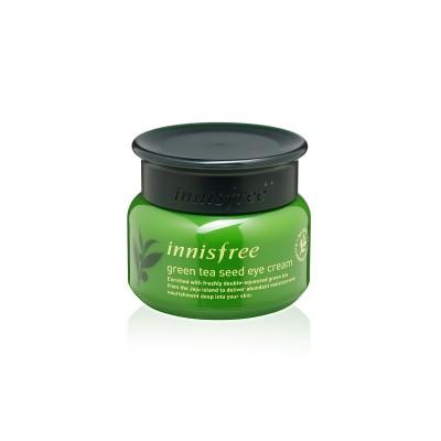Нежный крем для кожи вокруг глаз с экстрактом зелёного чая Innisfree Green Tea Seed, 30 мл