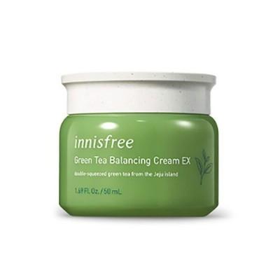 Крем для лица с зеленым чаем INNISFREE Green Tea Balancing Cream EX, 50 мл