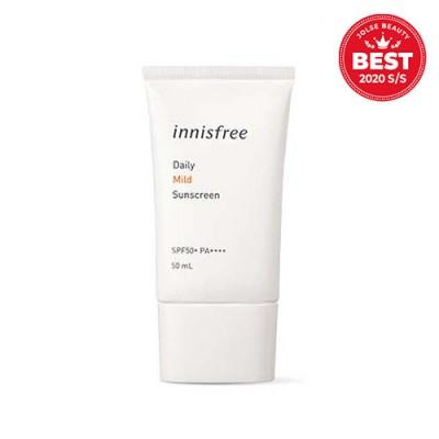 Солнцезащитный крем Innisfree Daily Mild Sunscreen SPF50+ PA+++ 50ml