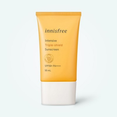 Солнцезащитный крем Innisfree Intensive Triple - shield Sunscreen SPF 50+ PA++++ 50 ml