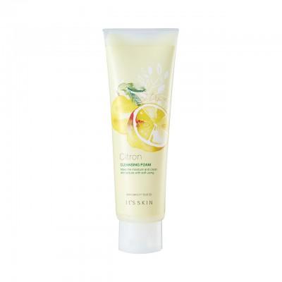 Очищающая пенка с экстрактом юдзу it's skin citron cleansing foam, 150 мл