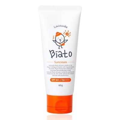 Детский солнцезащитный крем Biato Suncream SPF 50+/PA++++, 60 гр