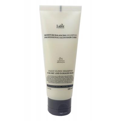 Увлажняющий шампунь для волос без силиконов LA'DOR Moisture Balancing, 100 мл