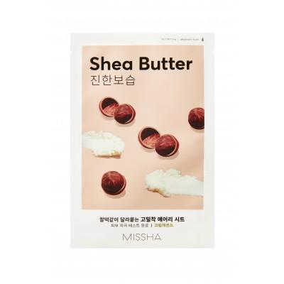 Питательная маска на тканевой основе MISSHA Airy Fit Sheet Mask (Shea Butter)