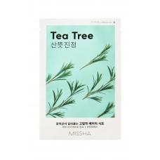 Противовоспалительная маска на тканевой основе MISSHA Airy Fit Sheet Mask (Tea Tree)