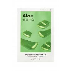 Увлажняющая маска на тканевой основе MISSHA Airy Fit Sheet Mask (Aloe)