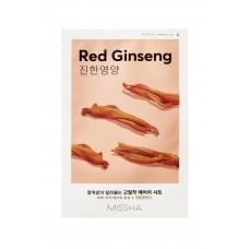 Омолаживающая маска на тканевой основе MISSHA Airy Fit Sheet Mask (Red Ginseng)