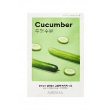 Увлажняющая маска на тканевой основе MISSHA Airy Fit Sheet Mask (Cucumber)