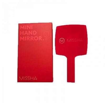 Фирменное красное зеркало MISSHA RED MINI HAND MIRROR