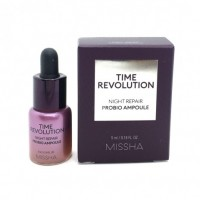 Ночная мини-сыворотка для лица с пробиотиками MISSHA Time Revolution Night Repair, 5 мл