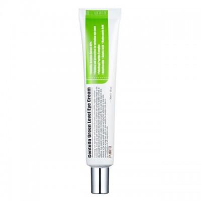 Подтягивающий крем для век с пептидами и центеллой PURITO Centella Eye Cream, 30 мл
