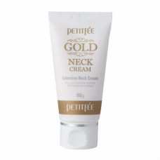 Крем для шеи PETITFEE Gold Intensive Neck Cream - 50 гр